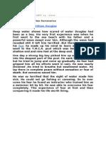Xii English Core Flamingo & Vistas Summaries
