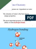 Waters Properties Ppt