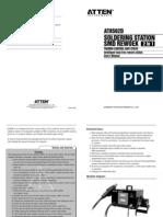 AT8502D Manual