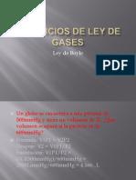 Ejercicios de Ley de Gases David Escalante