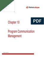 Program Communication Management
