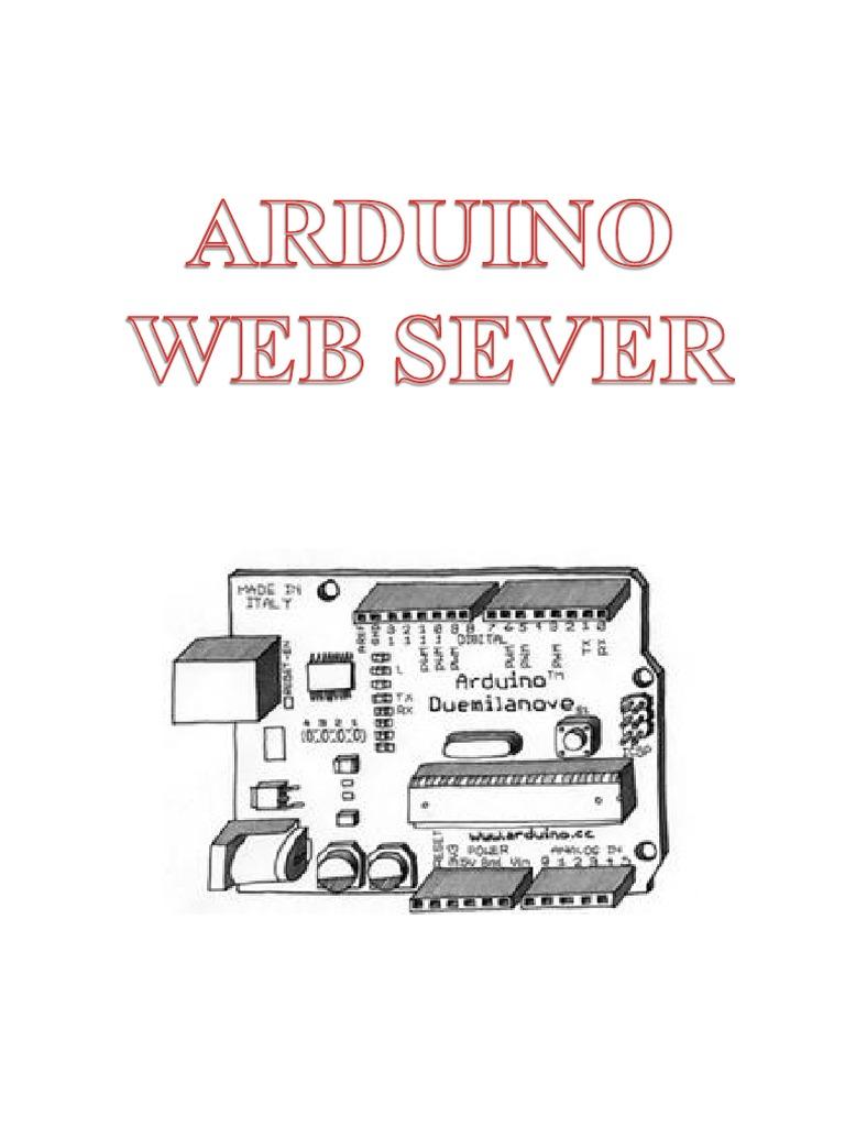 Arduino Ethernet Shield Web Server Tutorial   Html Element