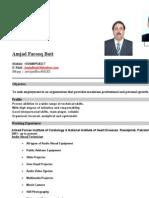 Cv Amjad Butt