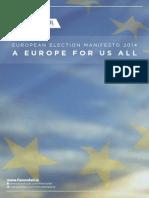 Fianna Fáil European Election Manifesto