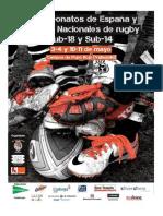 Dossier Cto España Cadete 2013-14. 3-4 de Mayo