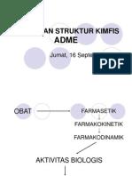 2.Hubungan Struktur Kimfis Adme