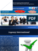 Taxation & Legal Consultant and Adviser – Legeazy International