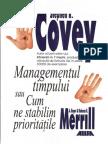 Stephen R Covey_Managementul Timpului