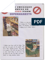 Why Children should be Banned from Supermarkets