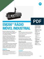 Moto EM200 PT SpecSheet 102612