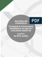 Nacionalne strategije za razvoj civilnog društva 2012.-2016