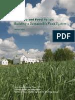 New England Food Policy Mar 2014
