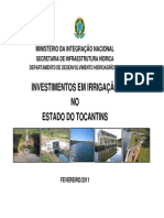 Palestra Politica Nacional de Irrigacao