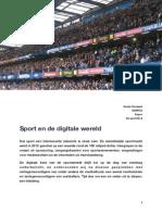 Sport en de Digitale Wereld