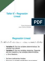 Taller 8 – Regresión Lineal