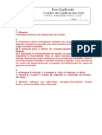 B - 5.1 - Teste Diagnóstico - Rochas (1) - Soluções