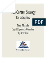 Content Strategy for Libraries
