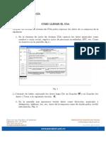 COA Guanajuato Manual de Usuario