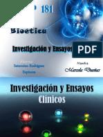 Investigacion y Ensayos Clinicos