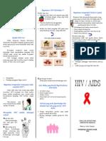 Leaflet Hiv Aids
