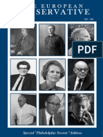The European Conservative, Issue 9 (Winter 2014)