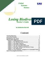 Losing Biodiversity