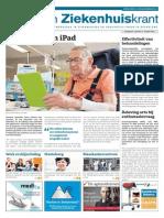 Zorg- En Ziekenhuiskrant, 30 April 2014