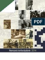 Nemzeti évfordulóink 2014