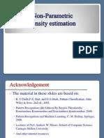 ICS583 112 Non-Parametric Density Estimation S