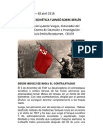 LA BANDERA SOVIÉTICA FLAMEÓ SOBRE BERLÍN