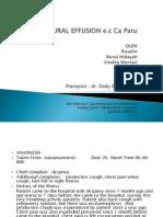 Pleural Effusion Cr