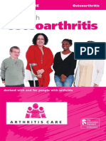 Living With Osteoarthritis 2013