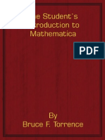 Student's Introduction to MATHEMATICA