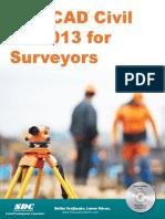 Autocad Civil3d 2013 for Surveyor