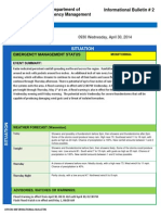 Flooding Informational Bulletin #2 04302014