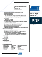 AtXmega256A3 Data Sheet