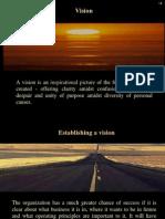 Vision & Vision Statements