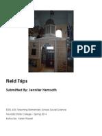 EDEL453 Spring2014 JenniferHEMSATH FieldTrips