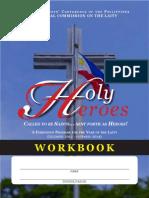 Holy Heroes Facilitators manual