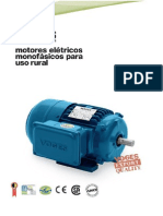 Motor Monofasico Para Uso Rural