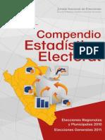 Compendio Estadístico Electoral