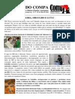 BOLETIM DO COMPA Nº 3 - ALEGRIA, ORGULHO E LUTA!
