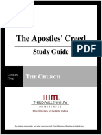 The Apostles' Creed - Lesson 5 - Study Guide