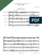 (Score) Tate, Barbara - Circus Suite for Brass Quintet
