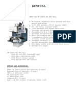 Kent TW-32MCO Spec Sheet