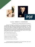Eminescu Si Schopenhauer