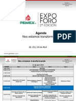 Agenda ExpoForo 2014