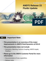 ANSYS 15.0 Update for Improving Fluids Dynamics Simulations