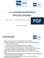 Senai-BA - Transmissão Automotiva Pesada - Pronatec