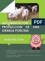 Implementacion y Produccion de Una Granja Porcina